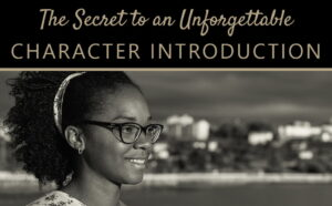 How to introduce characters