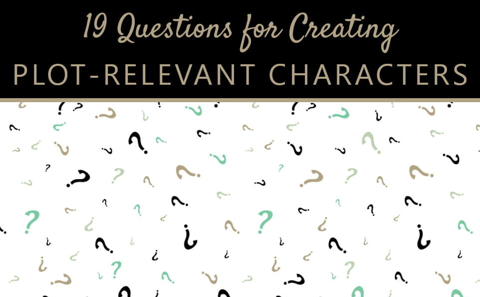 How to create plot-relevant characters